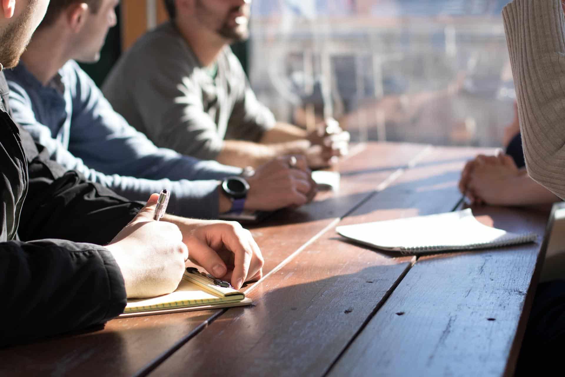 company-employees-talking
